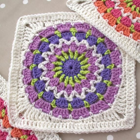 Basic Granny Square Crochet Pattern Pdf