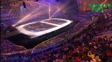 Церемония открытия Зимней Олимпиады в Сочи 2014 Winter Olympics часть 1