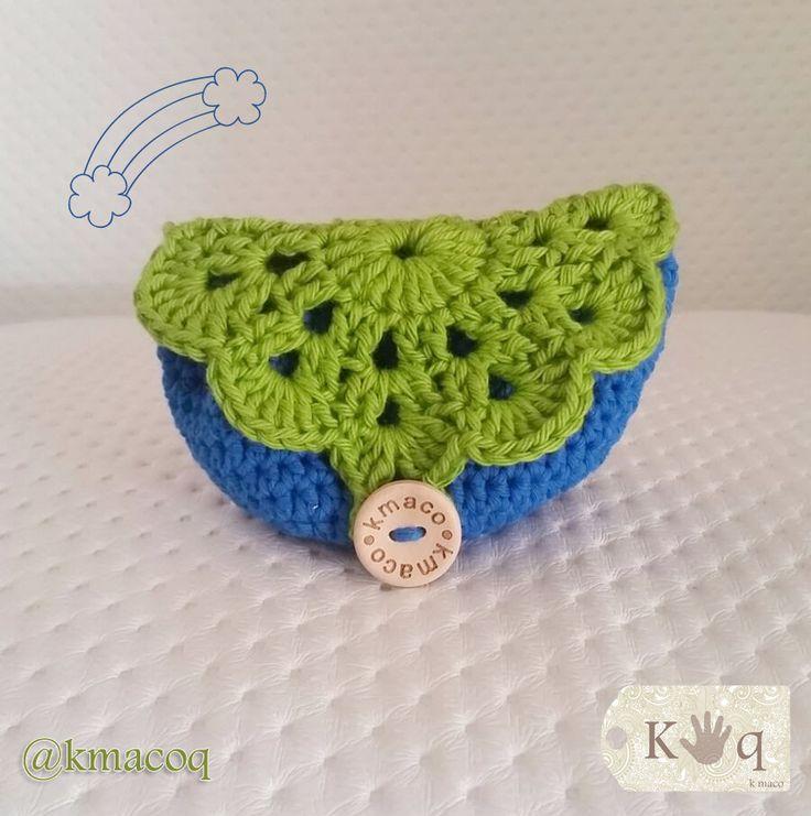 13 best Monederos crochet y trapillo images on Pinterest | Breien ...
