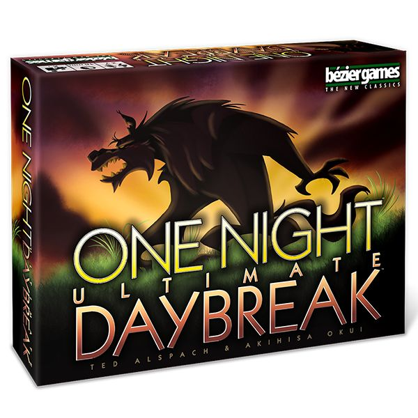 Get ready to take your One Night Ultimate Werewolf games to the next level with One Night Ultimate Werewolf: Daybreak! This standalone expansion adds 11 brand new roles and can be combined with the base One Night Ultimate Werewolf game for even more fun!