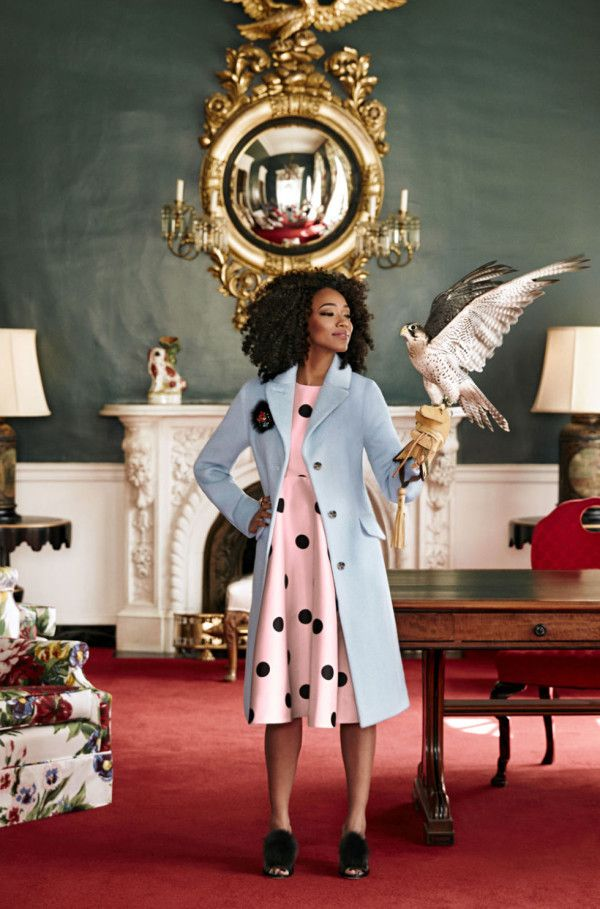 The Walking Dead's Sonequa Martin-Green is Serving Hair and Style in This Gorgeous Photo Shoot#Good Housekeeping