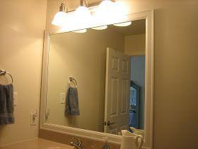 framing bathroom mirrors - Bathroom Mirror Ideas