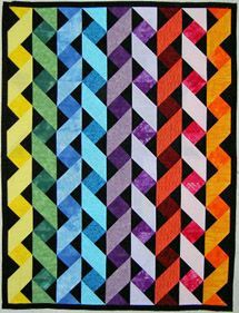 All About Inklingo » Blog Archive » Do you recognize the designer of this triangle quilt?