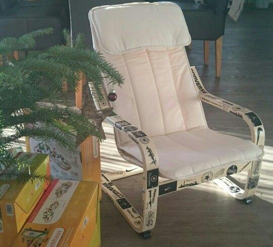 ikea kinderstuhl mal anders gepotcht potchen. Black Bedroom Furniture Sets. Home Design Ideas