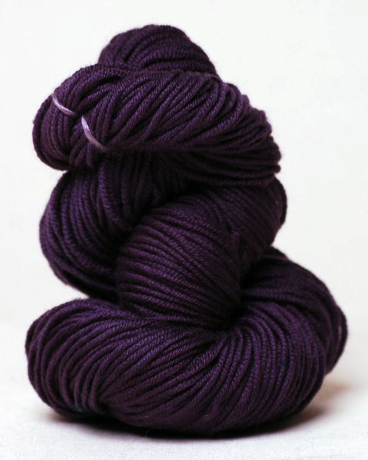 The color is called Voodoo. purl soho | products | item | temple (alchemy)