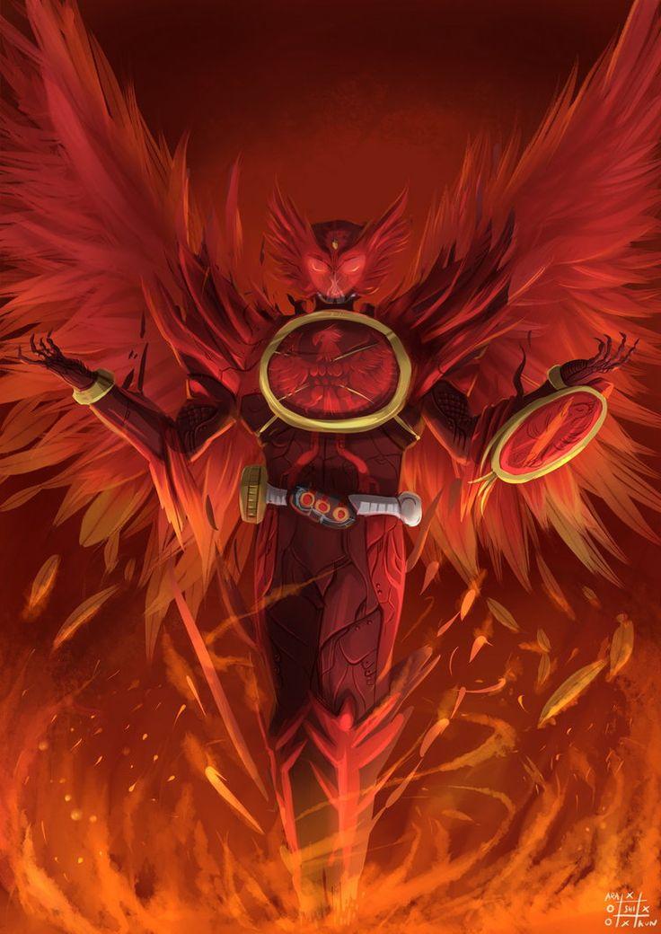 fanart for Kamen Rider OOO : tajador form