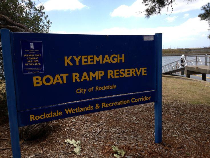 Kyeemagh Boat Ramp Reserve. #kyeemagh #mcgrathstgeorge #boat