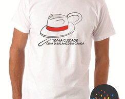 Camiseta Zé Pelintra Balanço da Canoa
