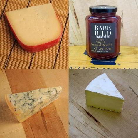 Artisan Cheese and Rare Bird Pairing Box