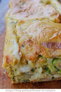 Plumcake con tonno e zucchine ricetta veloce vickyart arte in cucina