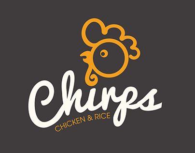 Echa un vistazo a este proyecto @Behance: u201cChirps Chicken & Rice Logo Refreshu201d https://www.behance.net/gallery/25388807/Chirps-Chicken-Rice-Logo-Refresh