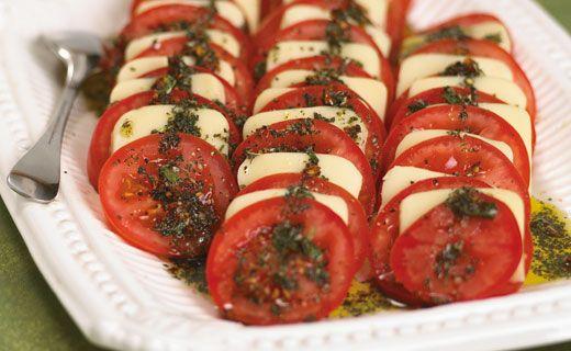 Epicure's Mozzarella and Tomato Antipasti