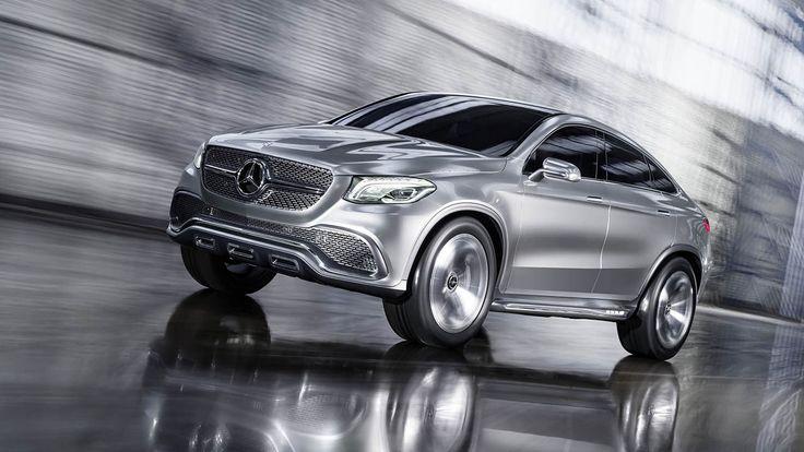 Photos: Mercedes-Benz Concept Coupe SUV