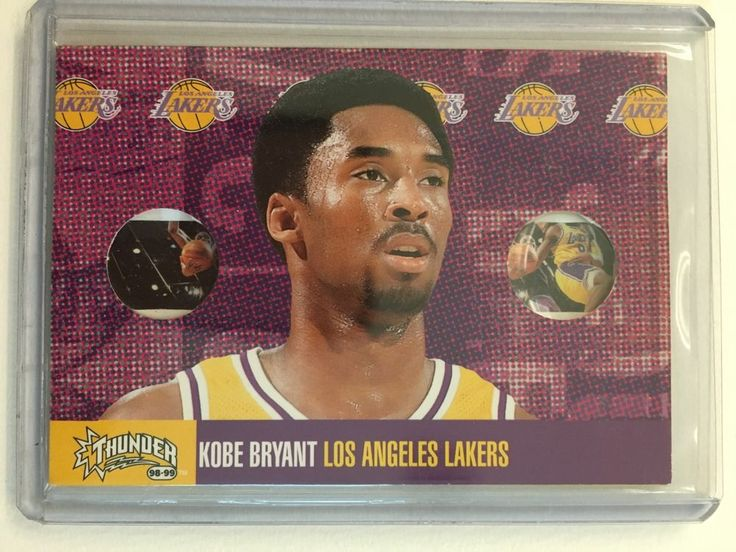 1998-99 SKYBOX THUNDER KOBE BRYANT FLIGHT SCHOLL INSERT LOS ANGELES LAKERS | Sports Mem, Cards & Fan Shop, Sports Trading Cards, Basketball Cards | eBay!