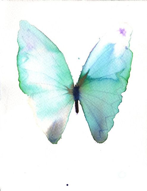 Pale Green And White Butterfly By metamorphosing eclectic artwork