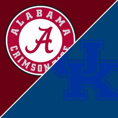 Get box score updates on the Alabama Crimson Tide vs. Kentucky Wildcats football game.