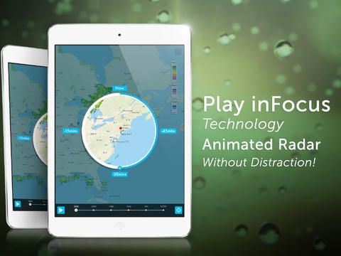 NOAA Radar & Hurricane inFocus by Clear Day™ is a state-of-the-art weather app that redefines the concept of maps-displayed weather data