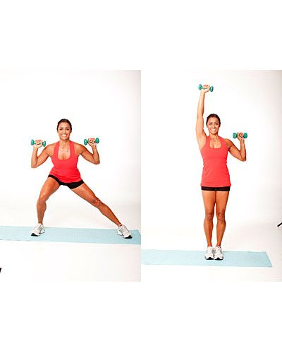 14 Time-Saving Exercises - : Courtesy of Ramona Braganza http://www.fitbie.com/slideshow/how-to-gain-muscle-fast?ocid=fbmsnfitbie