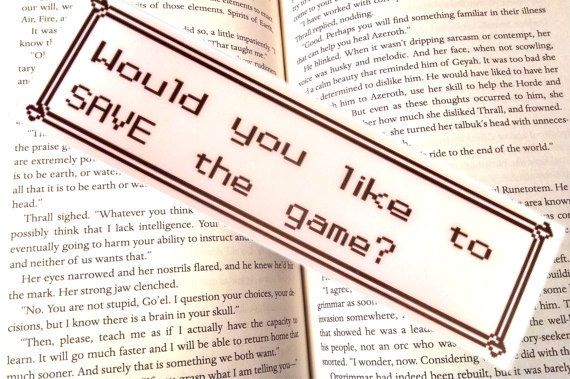 A save-screen bookmark.