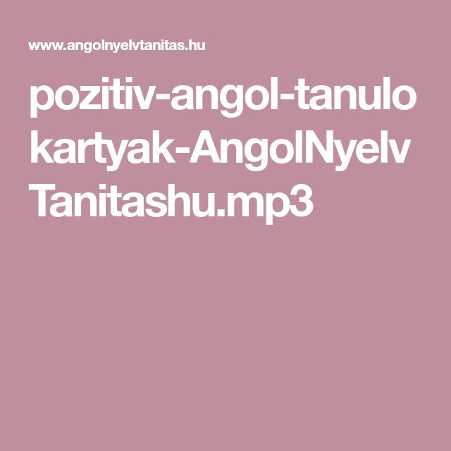 pozitiv-angol-tanulokartyak-AngolNyelvTanitashu.mp3