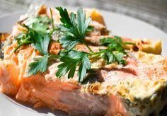 Лосось, запеченный в духовке - лучшие рецепты - Как быстро