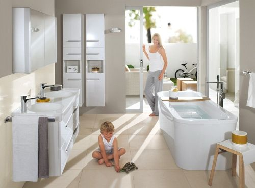 78 best salle de bains images on pinterest building construction and bathroom. Black Bedroom Furniture Sets. Home Design Ideas