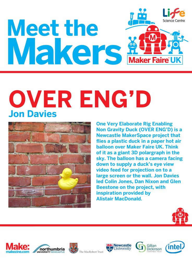 OVER ENG'D at Maker Faire UK 2014