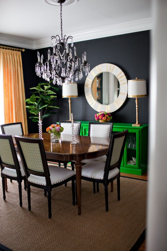 17 best images about dive deep ss86 3 on pinterest - Black walls in dining room ...