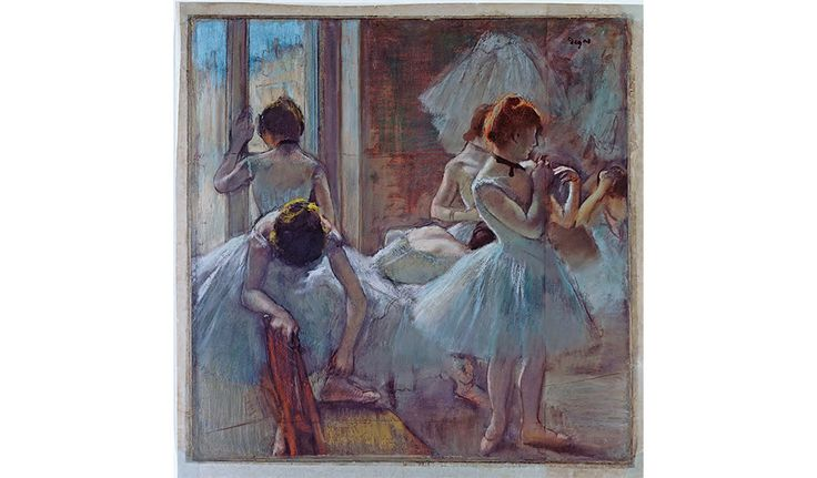 'Degas Danse Dessin': Excerpts From Poet Valéry's Monograph with Degas's Paintings at Musée d'Orsay in Paris