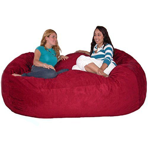 The Cozy Sack foam fill bean bag chair is the most comfortable place to sit anywhere. They are filled with the softest virgin urethane foam available. The urethane foam will spring back to normal size after every use and not go flat like the traditional bean bag chairs. The Cozy Sack foam chair... more details available at https://furniture.bestselleroutlets.com/game-recreation-room-furniture/bean-bags/product-review-for-cozy-sack-7-feet-bean-bag-chair-x-large-cinnabar/