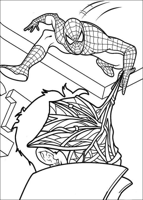 pin su spiderman ausmalbilder malvorlagen zum ausdrucken