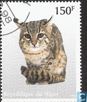 Postage Stamps - Niger - Cats