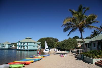 Novotel Twin Waters - private lagoon. #Queensland