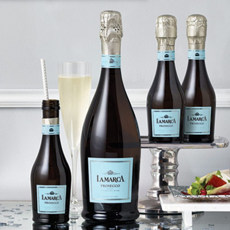 Things We Love: Mini Prosecco Bottle Favors from La Marca - New Jersey Bride