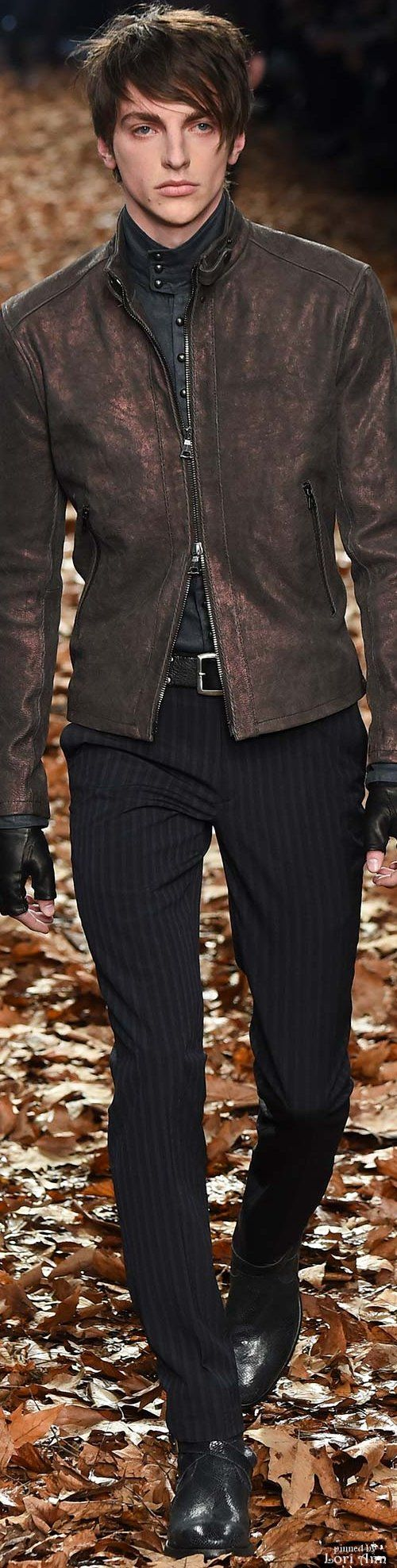 John Varvatos 2015 | Men's Fashion | Menswear | Men's Casual Outfit for Fall/Winter | Moda Masculina | Shop at designerclothingfans.com