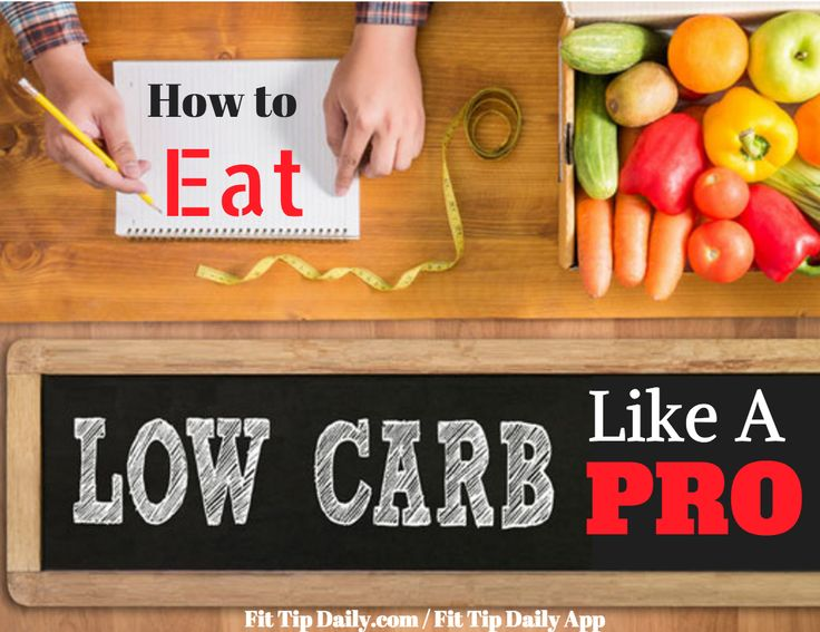 Craving some results? Use these fitness tips on how to eat low carb like a pro…