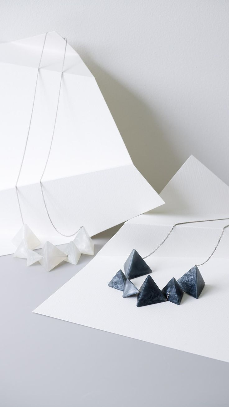 Multi Luxe Pyramid Necklace