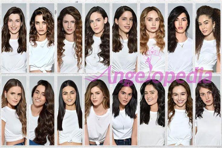 Miss Israel 2017 - Meet the contestants