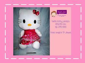 boneka hello kitty Wa/Line/Sms: 081327172699 PIN BB:751249F4