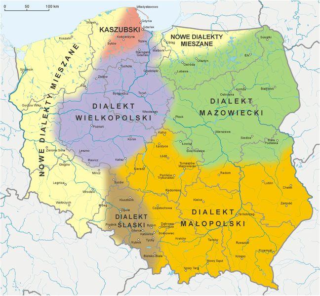 http://www.forvo.com/user/gorniak/  Polish language and its dialects - Język polski i jego dialekty