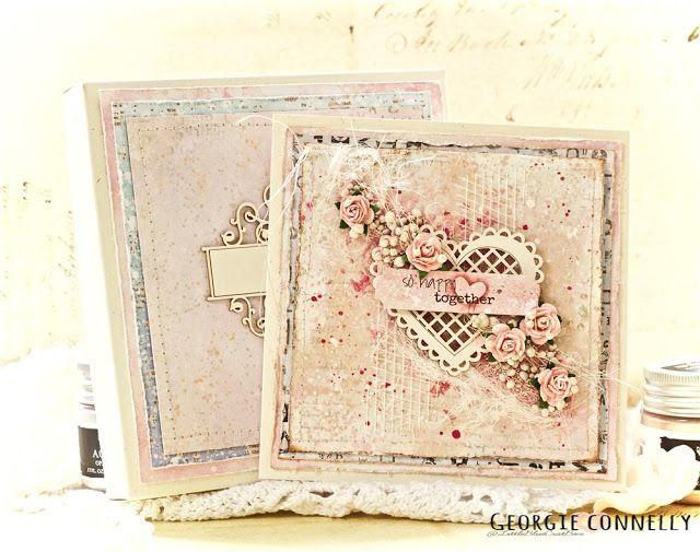 Wedding card by Georgie