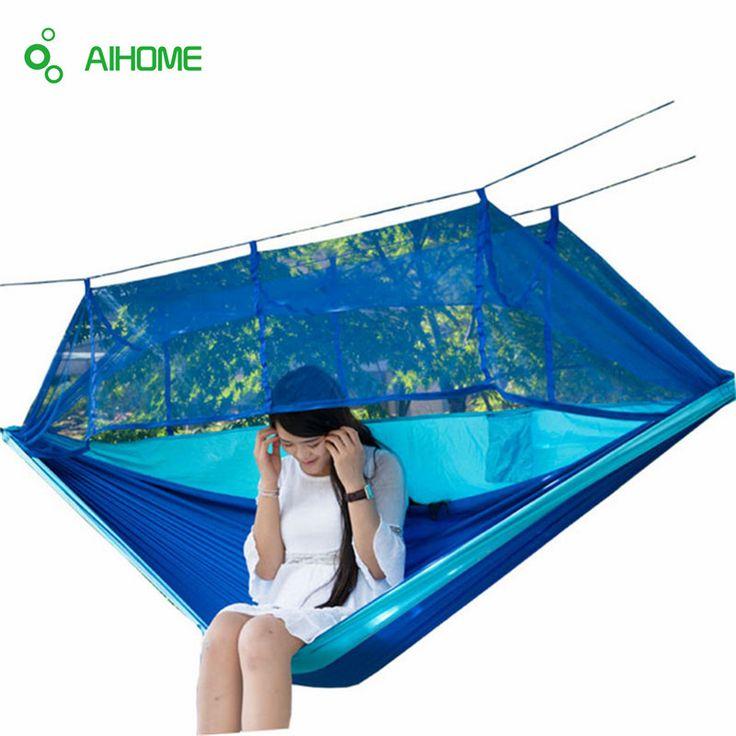 $35.82 (Buy here: https://alitems.com/g/1e8d114494ebda23ff8b16525dc3e8/?i=5&ulp=https%3A%2F%2Fwww.aliexpress.com%2Fitem%2F2016-Newest-Fashion-Handy-Hammock-Parachute-Fabric-Mosquito-Net-Hammock-Single-Person-Portable-Indoor-Outdoor-Camping%2F32717116270.html ) 2016 Newest Fashion Handy Hammock Parachute Fabric Mosquito Net Hammock Single Person Portable Indoor Outdoor Camping Hangmat for just $35.82