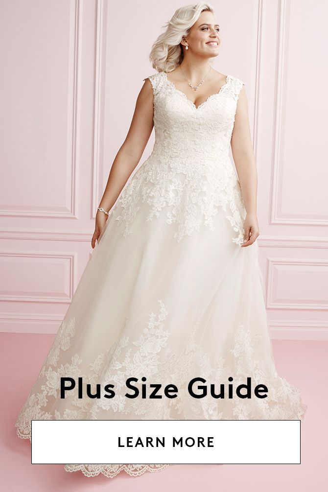 Plus Size Wedding Dresses & Bridal Gowns | David\'s Bridal ...
