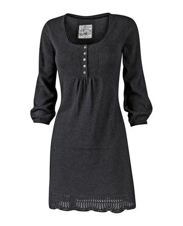 Love how versatile this dress is. Could work for the office with a nice scarf…