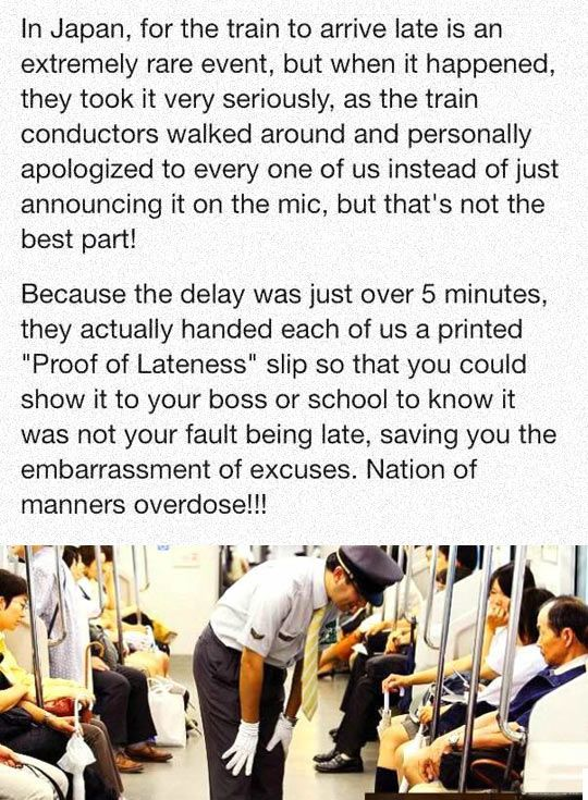 Funny Pictures: Late Train In Japan