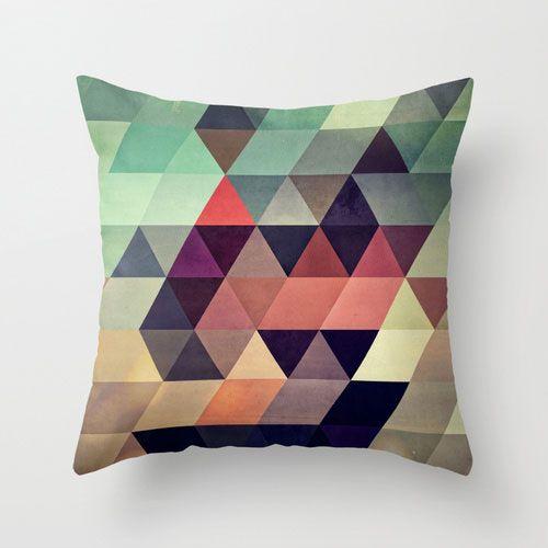 Geometric Abstraction I Pillow Cover | dotandbo.com