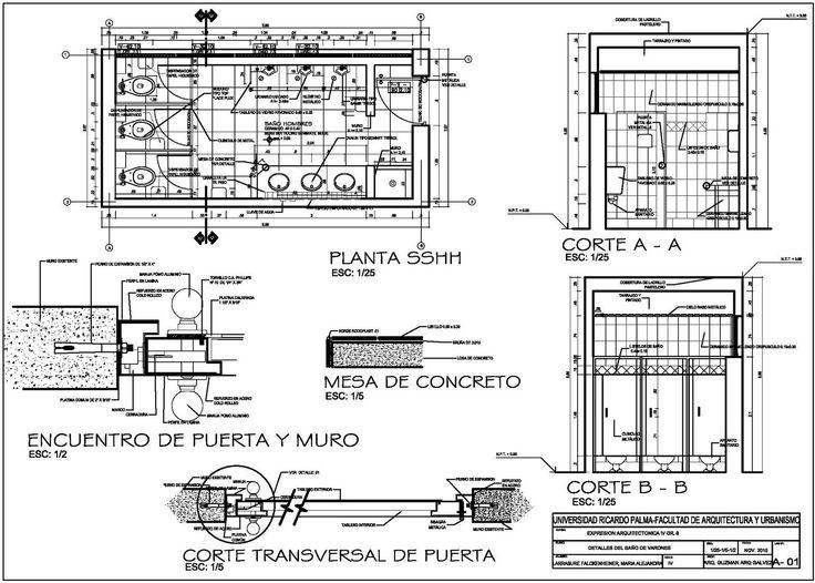 Plano de detalle de cocina realizado por antonio weston en for Programas para disenar planos arquitectonicos