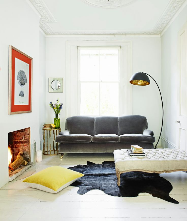 View Stylish Living Room Ideas Including This Effortlessly Cool Combination