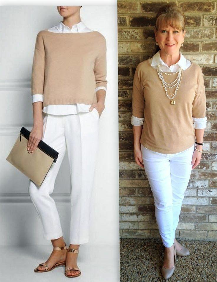 Resultado de imagen para outfits para señoras de 50