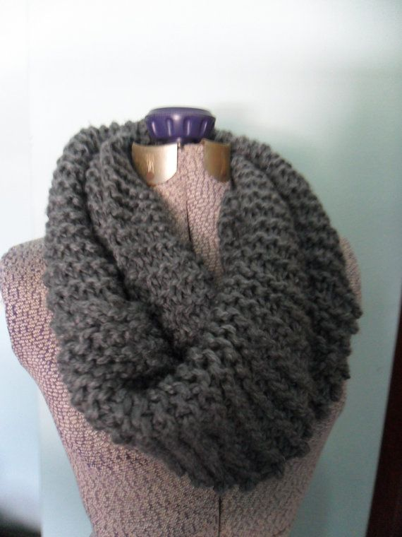 Double Crochet Infinity Scarf: If you're feeling confident in your crocheting skills, give your infinity scarf a little more texture with this simple double crochet pattern. (via Delia Creates) 6.